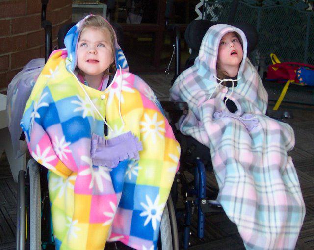 Wheelchair Coat / Cape | BeccaBug.com