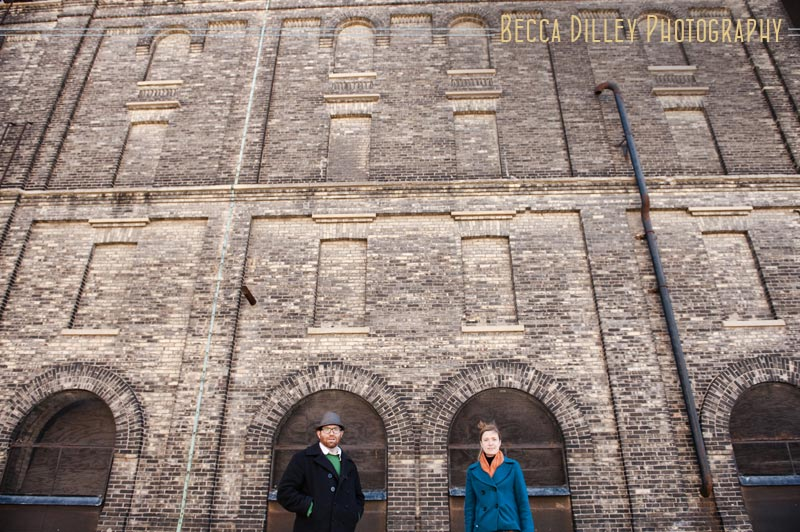 milwaukee pabst brewery engagement photos wi