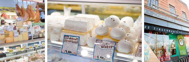 Ann Arbor Food Tour Photos zingermans creamery