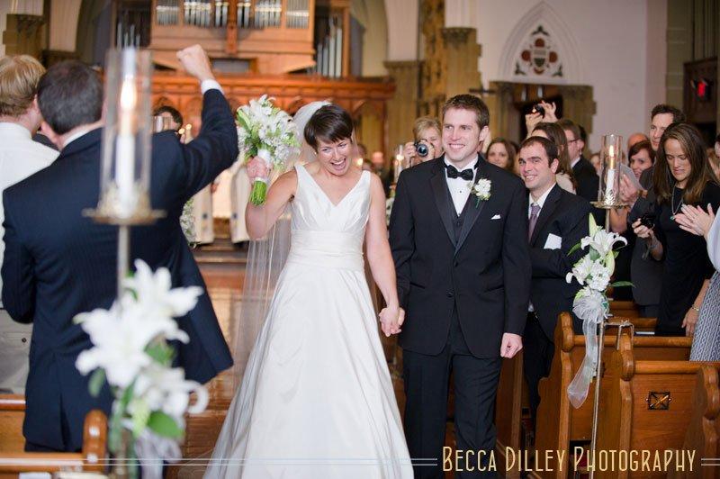 Grace Episcopal Church Wedding Madison Wi