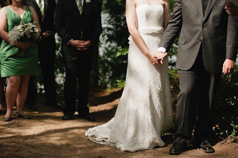 wisconsin northwoods wedding