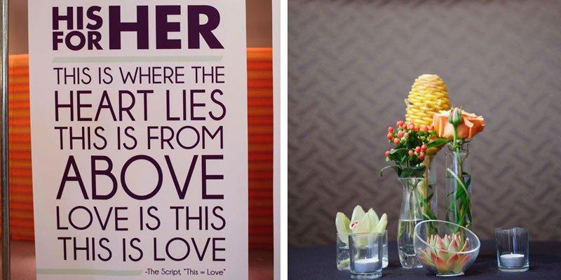 groom chose quote for bride as altar five event center minneapolis wedding