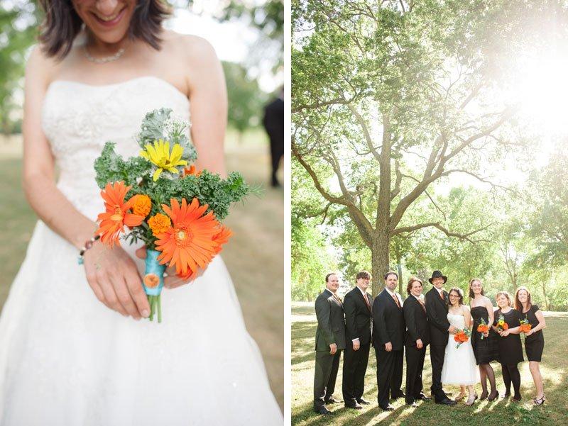 wedding part at Lake Hiawatha for Minneapolis wedding