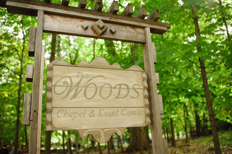 wedding at Woods Chapel Orono MN