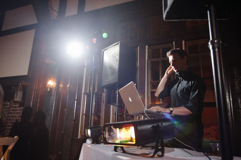 DJ Jake Rudh at wedding in Minneapolis