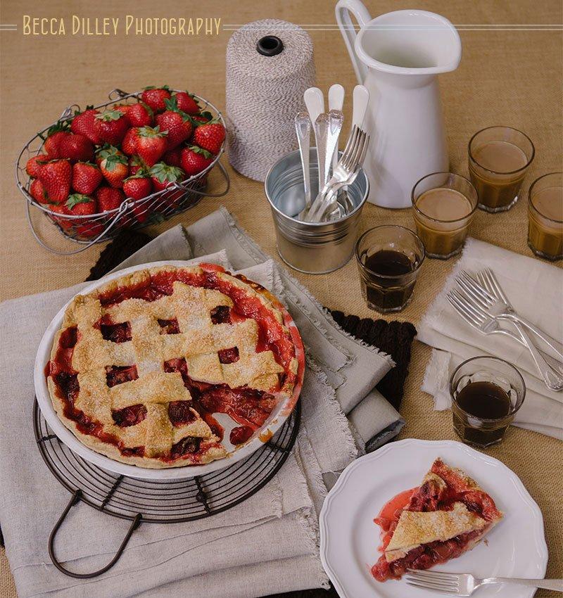 Minneapolis food photographer MN Turtle bread pie