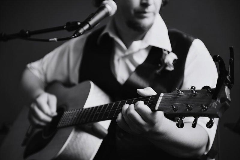 Guthrie theater wedding classical guitar