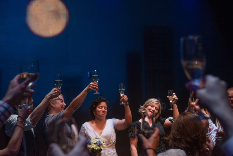 Guthrie theater wedding reception toasts