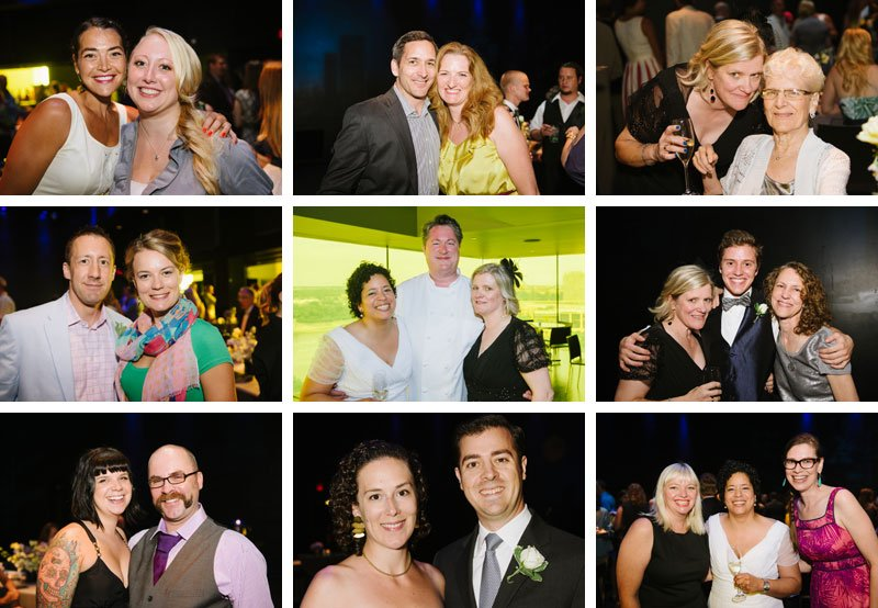 Guthrie theater wedding reception guests