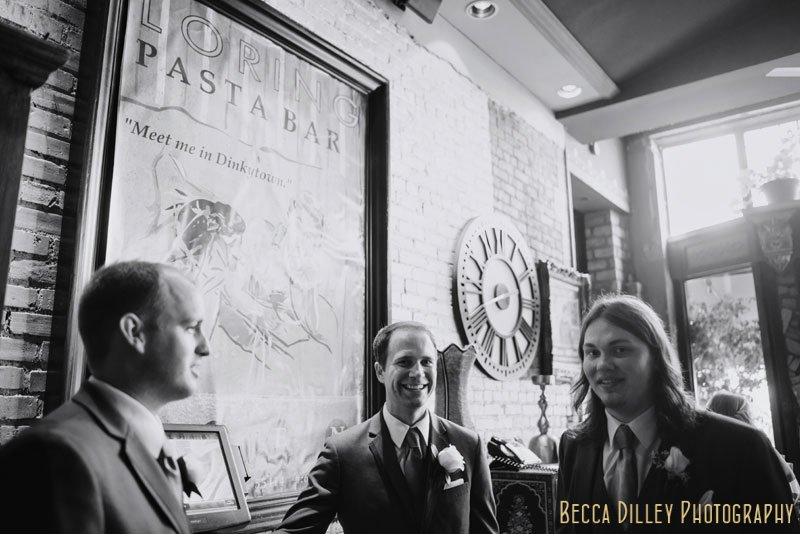 groomsmen loring pasta bar minneapolis wedding