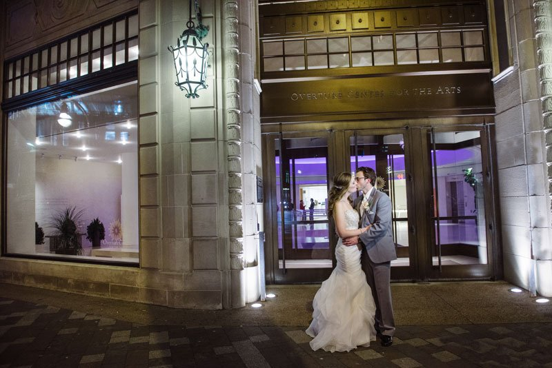 madison wedding photographer overture center