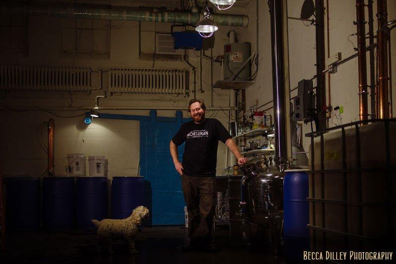 minneapolis food photographer norseman distillery in Northeast Minneapolis