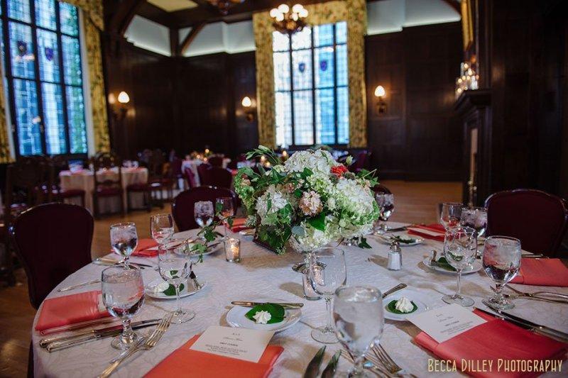 reception dinner minneapolis club wedding