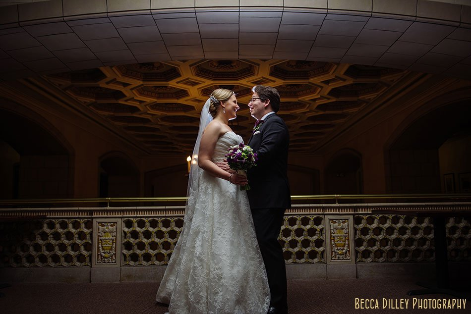 st paul wedding photographer couple with dramatic lighting