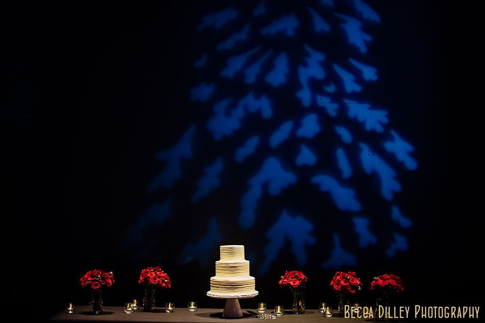 cake table guthrie theater wedding ceremony winter minneapolis photographer