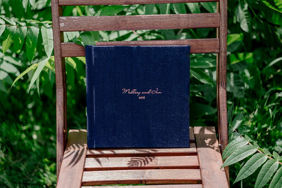 Flush Mount Wedding Albums