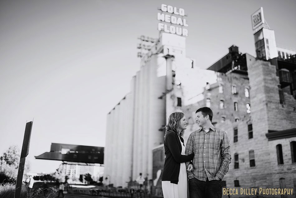 old mill downtown minneapolis engagement photos mill city lifestyle