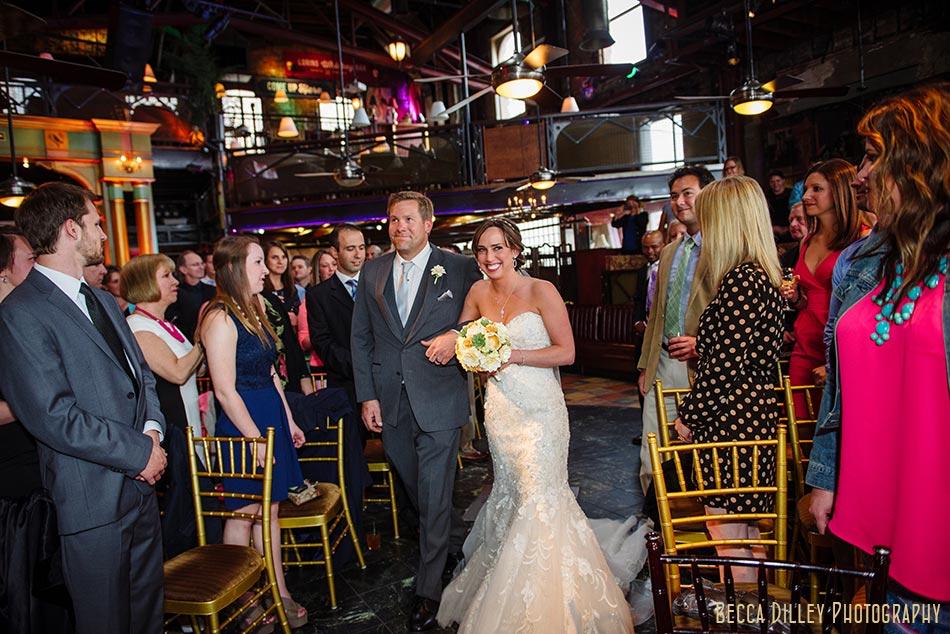 bride and father minneapolis wedding photographer varsity theater april mn
