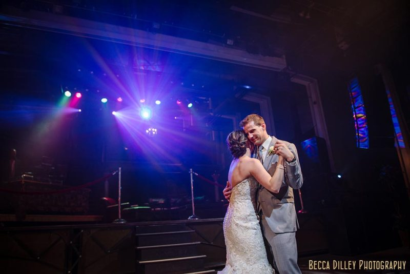 first dance minneapolis wedding photographer varsity theater april mn