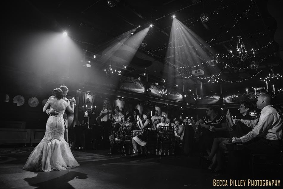 dramatic minneapolis wedding photographer varsity theater april mn
