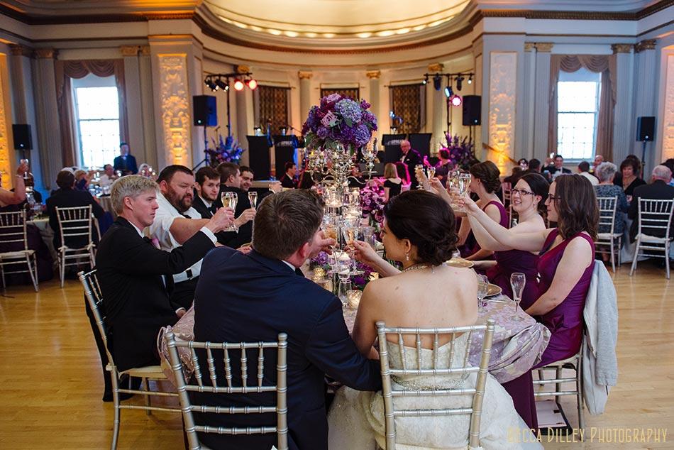 toasts great hall memorial union madison wisconsin wedding
