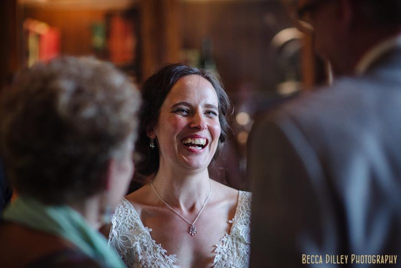 bride at cocktail hour wa frost wedding st paul mn photographer
