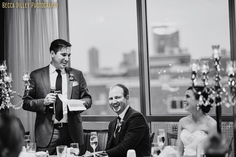 toasts campus club wedding