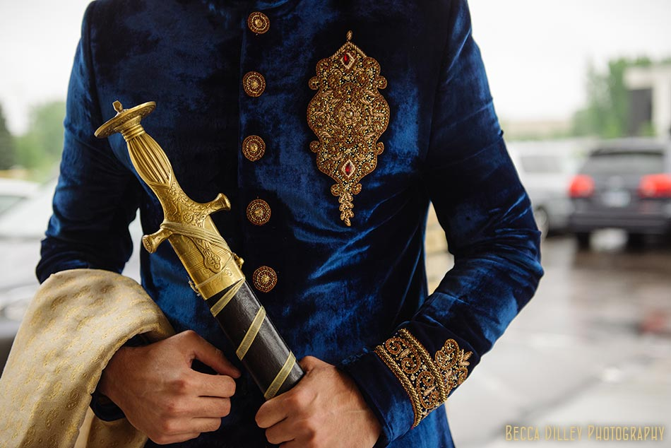 minneapolis indian wedding afghan saber