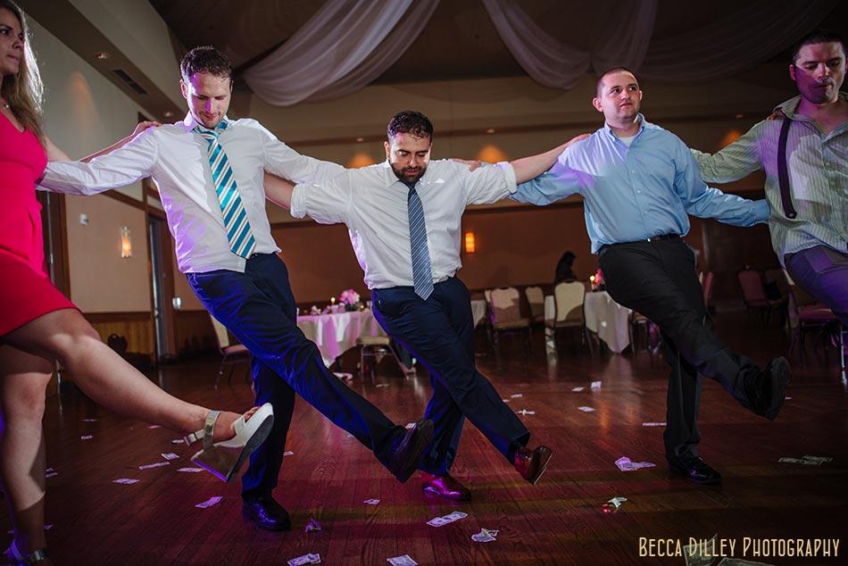 dancing Minneapolis greek wedding