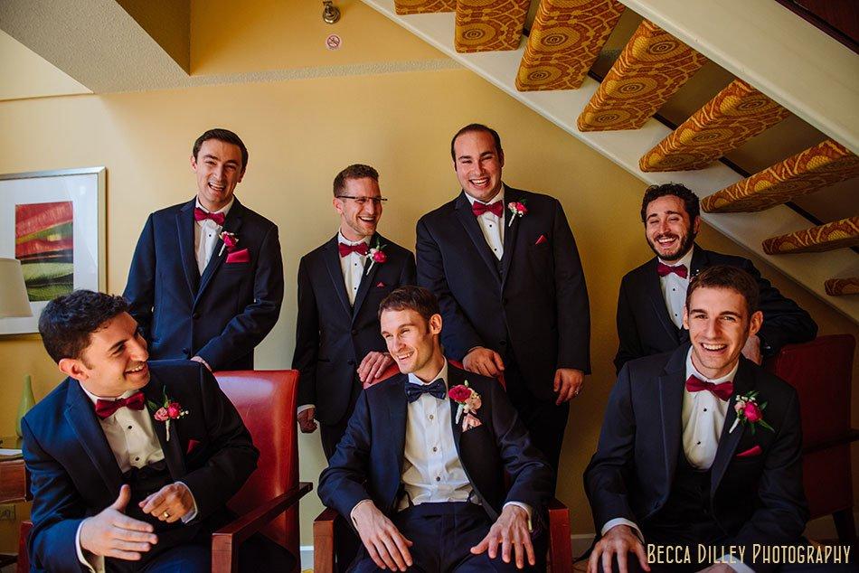 groomsmen minneapolis orthodox jewish wedding marriot city center