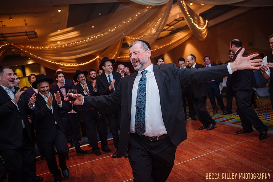 hora with schtick minneapolis orthodox jewish wedding marriot city center