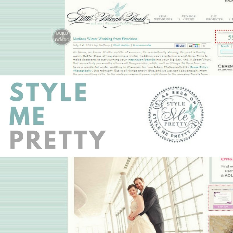 featured in Style Me Pretty