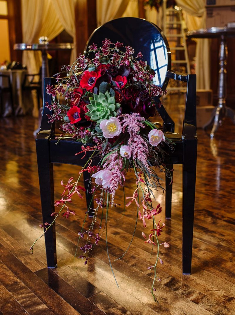 bouquet lavish minneapolis club wedding