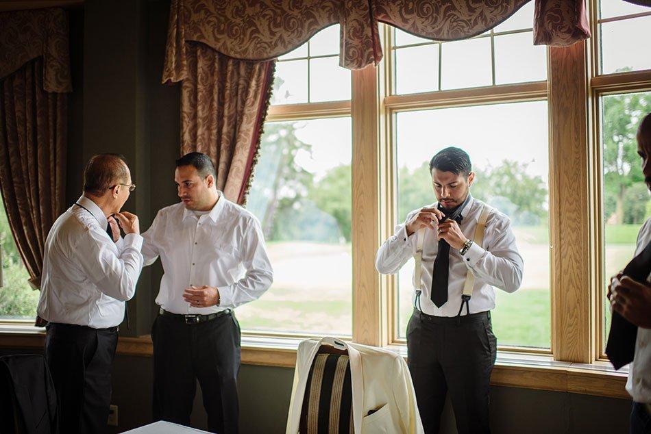 getting ready wayzata country club wedding mn