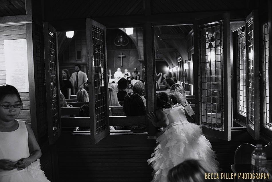 flower girls wayzata country club wedding mn