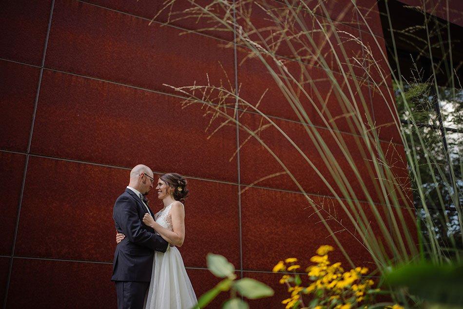 backyard prairie white bear Unitarian universalist church wedding mn
