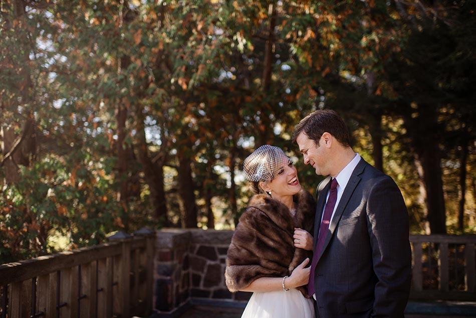 bride and groom Theodore Wirth Wedding Minneapolis