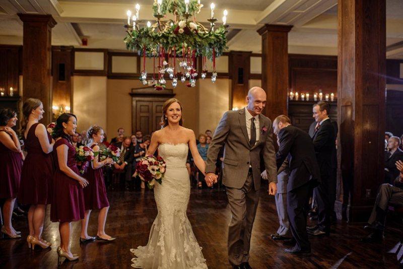 exit Wedding at Minneapolis Club