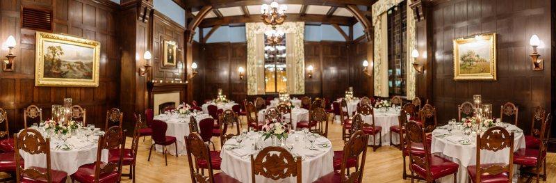 panorama dinning hall Wedding at Minneapolis Club