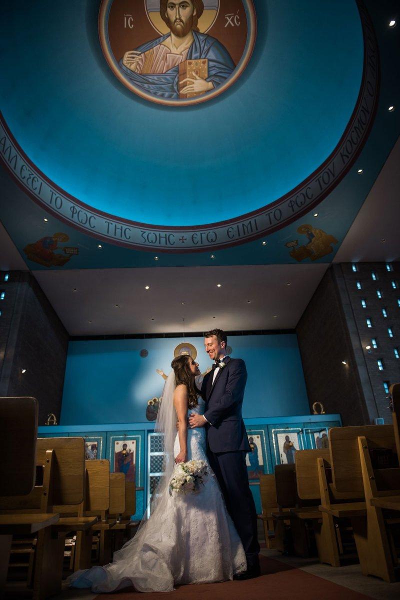Greek Minneapolis Wedding bride and groom fun minneapolis wedding st marys greek orthodox church