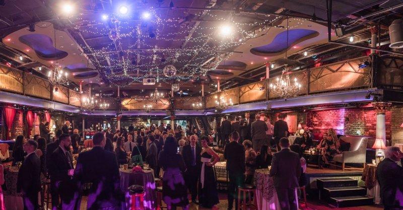 panorama interior fun minneapolis wedding at greek orthodox church and varsity theaterfun minneapolis wedding at varsity theater