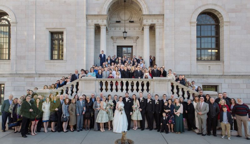 all guests jj hill library wedding st paul photographer