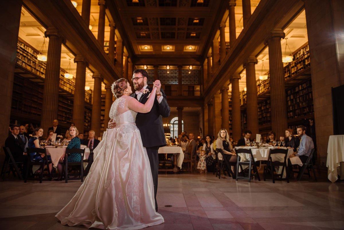 first dance jj hill library wedding st paul photographer