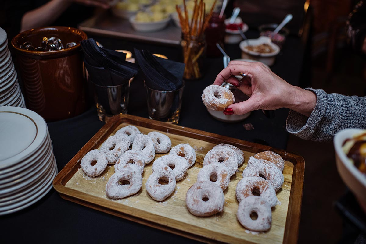 donuts Minneapolis Rehearsal Dinner Photographer Butcher and the Boar