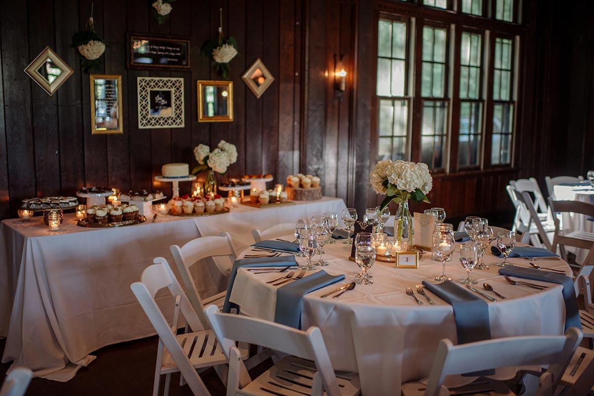 reception dinner Outdoor Minneapolis Wedding