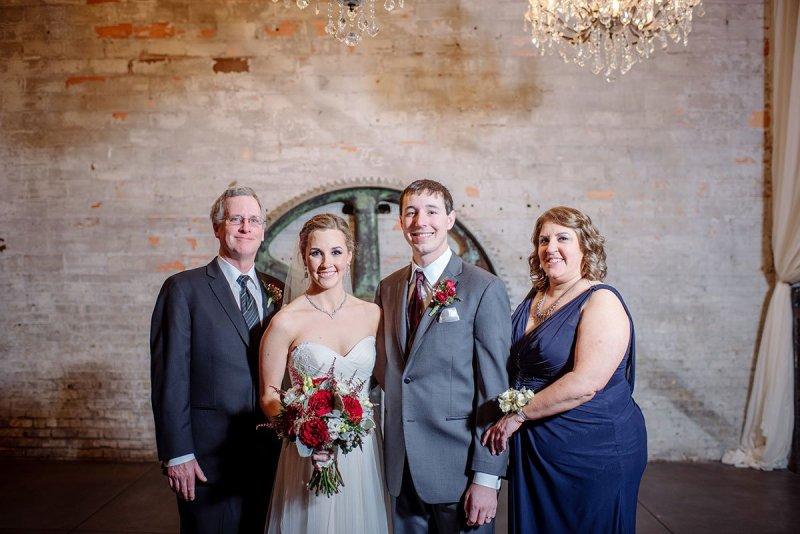 family photos Aria Winter Wedding Minneapolis