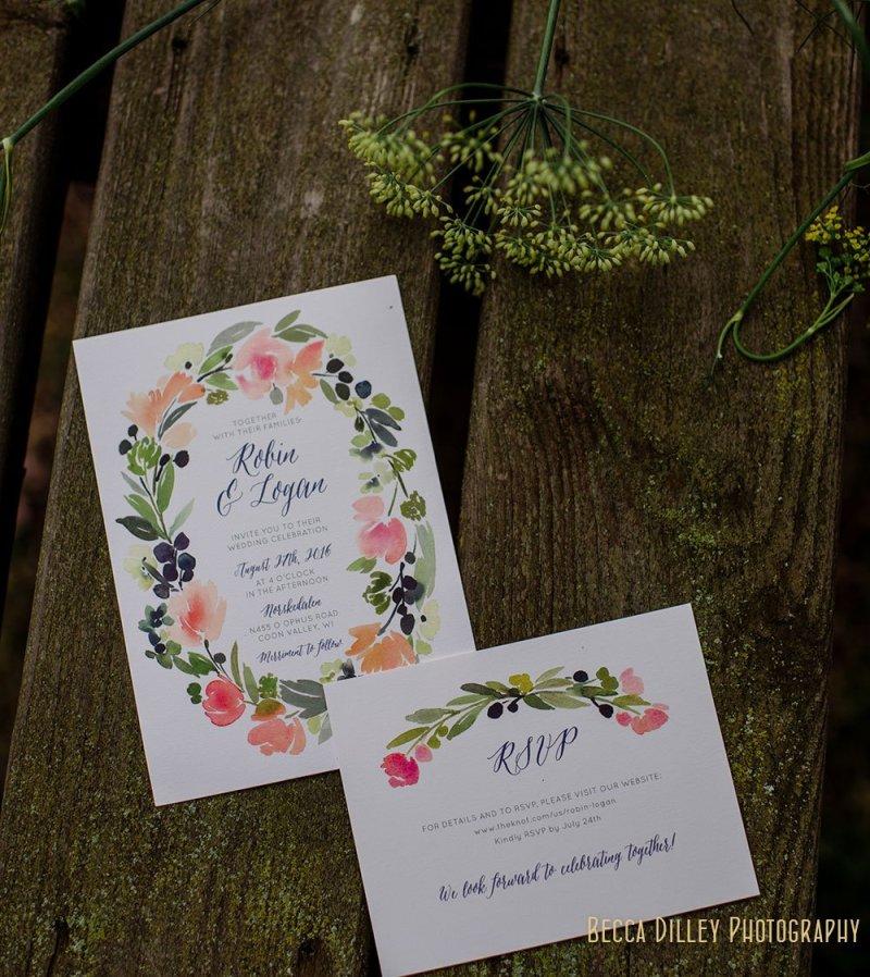 programs Norskedalen driftless WI wedding