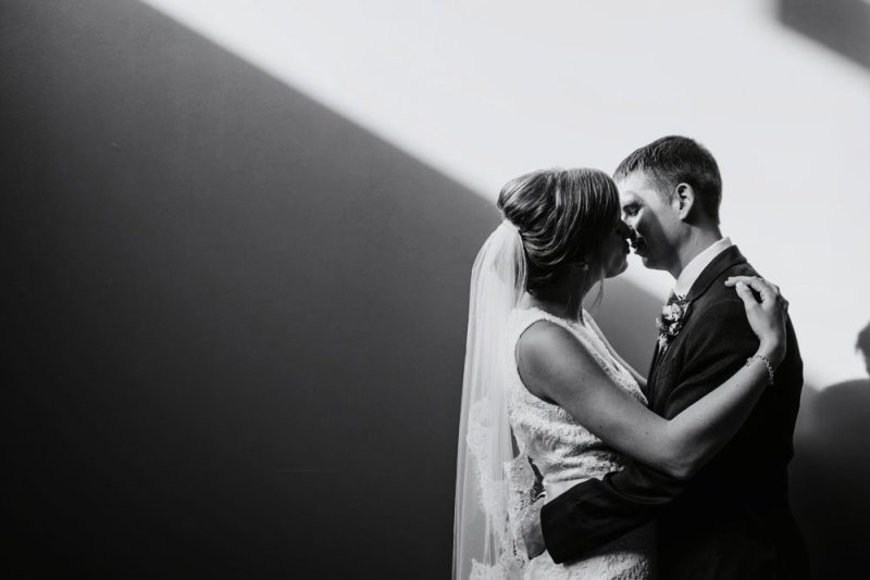 MEC wedding Minneapolis couple