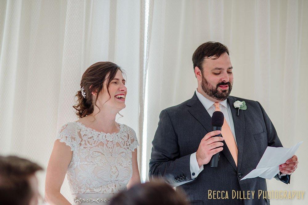 toasts Minneapolis Campus Club Wedding