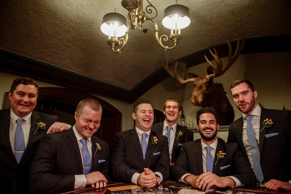 2017 favorite photos best Minneapolis photographer groomsmen and moose